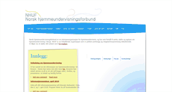 Preview of hjemmeundervisning.no