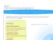Tablet Preview of hjemmeundervisning.no